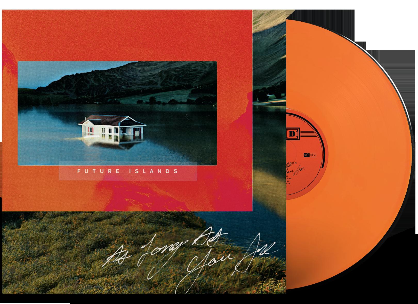 Future Islands Orange Vinyl