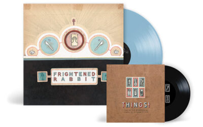 Frightened Rabbit – The Winter of Mixed Drinks on Blue Vinyl