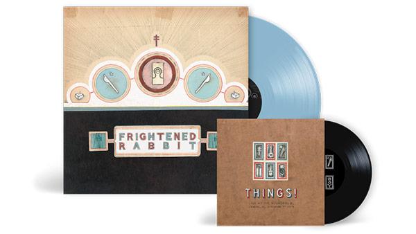 Frightened Rabbit – The Winter of Mixed Drinks on Blue Vinyl