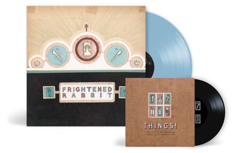 frightened Rabbit Mixed Drinks Blue Vinyl