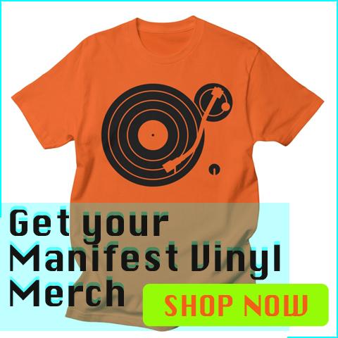 manifest vinyl merch t-shirt design