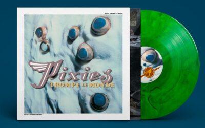 Pixies: 'Trompe Le Monde – 30th Anniversary Edition' Green Marble Colored Vinyl